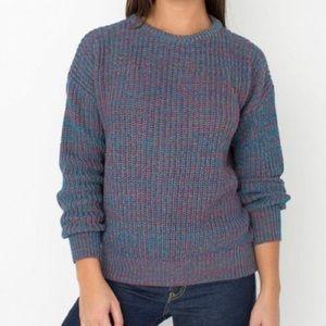 Pullover sweater American Apparel multicolor